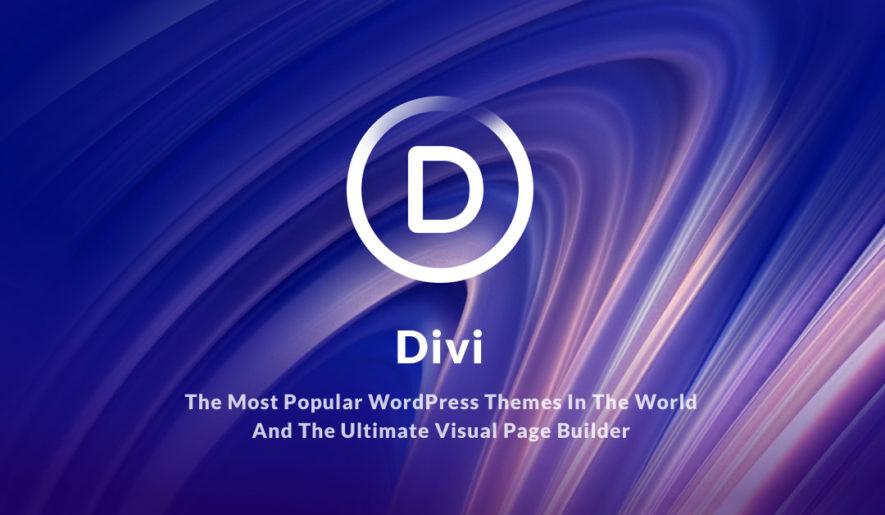 Ganz einfach zur eigenen WordPress Homepage mit dem Divi Theme Page Builder